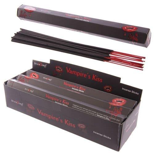 Stamford Black Incense Sticks - Vampires Kiss